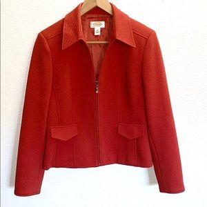 💛 Talbots Petites Zip Up Quilted Jacket 10